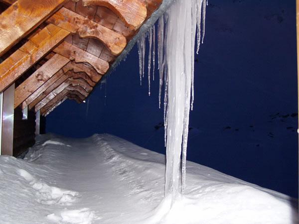 Ice at Balea Chalet