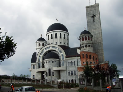 Zalau cathedral photo 3