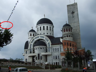 Zalau cathedral photo 2