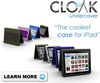 cloak iPad case