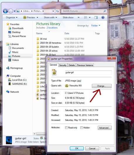 How To Change File Associations In Windows 7