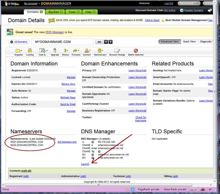 How to set CNAME for Blogger hosting on GoDaddy