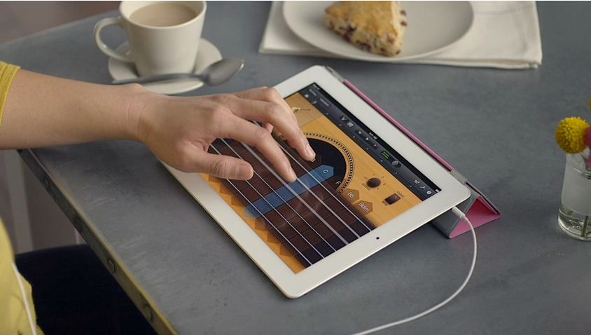 Garageband iPad 2 App – Your Own Music Studio At Home