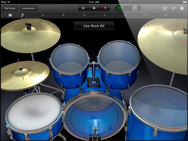 garageband drums