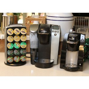 Keurig B70 Platinum and K-Cups selection