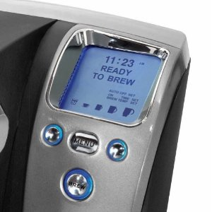 Keurig Brewer - backlit blue LED display