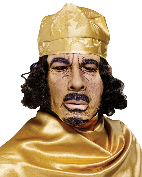 Gaddafi Halloween Costume: Would You Wear One This Halloween?
