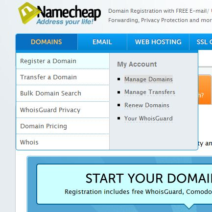 How To Change The DNS Servers Of A Domain Name